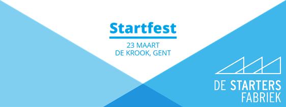 Startfest in De Krook